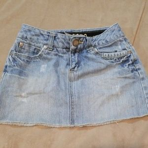 Limited Too girls jean skirt 7